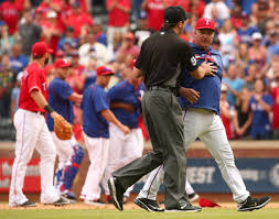 Todd Banister Texas Rangers Photos Jeff Banister Sizes Up Blue Jays Manager
