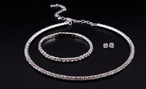swarovski necklace set images 22 for a swarovski elements set including bracelet studs and jpg