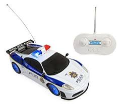 light up remote control car rc police car 1 20 scale full function remote control flashing