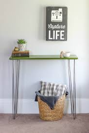 hairpin leg console table hairpin leg console table tutorial average but inspired