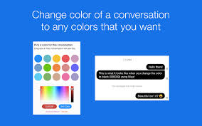 mauf custom messenger colors chrome web store