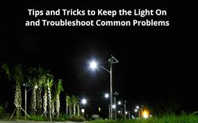 Alpan Solar Lights - tips and trick for solar outdoor lighting troubleshooting