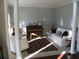 southgate residential formal living room unveiled here s what the space looked like shortly after i moved in we d already painted the walls sherwin williams pearl gray the sofa had recently been