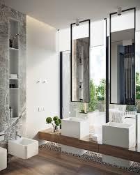 How To Design Bathroom Modern House Design Ideas Show Off Natural Decor And Lights Inside