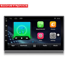 android audio player 2 din android 7 1 car radio stereo 7 1024 600 universal car player
