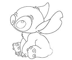 stitch coloring pages bestofcoloring drawings