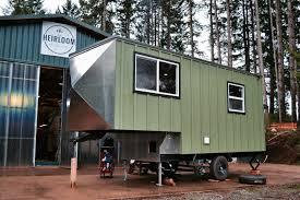 Tiny Homes Show by Aerodynamic Tiny Home By Tiny Heirloom Tiny House Town