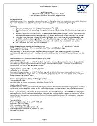 sample resume for on campus job sap bw sample resume successfully restructuring an executive