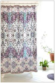 Purple Grey Curtains Purple And Grey Shower Curtain Image 1 Purple Grey Shower Curtain