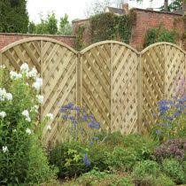 Diamond Trellis Panels Fencing Feather Edge Fence Panels Timber Posts U0026 Trellis