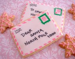 letters to santa cookies easier than u think rectangle sugar