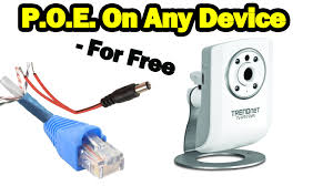 diy power over ethernet on non poe devices for free youtube