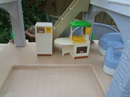 Little Tikes My Size Barbie Dollhouse by Little Tikes Dolls House With Furniture U0026 Figures Great Cond