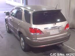 toyota lexus harrier 1998 1998 toyota harrier beige for sale stock no 44292 japanese