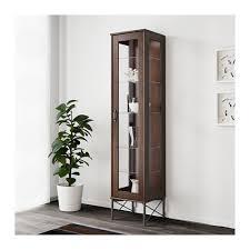 Klingsbo Glass Door Cabinet Tockarp Glass Door Cabinet Ikea Apartment Living Pinterest