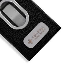 Leather Personalized Business Card Holder 16 Best Business Cards And Card Holders Images On Pinterest