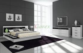 White Bedroom Furniture Sets Draco Black And White Contemporary Bedroom Furniture Sets Xiorex