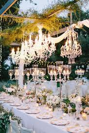 wedding reception decoration wedding decorations 40 ideas to use chandeliers
