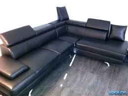 canapé d angle noir simili cuir canape pas cher simili cuir canapac daccueil 3 places design canape