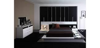platform bedroom suites modrest impera italian bedroom set in two tone lacquer