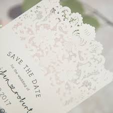 wedding save the date cards vintage lace inspired wedding save the date card ewstd058 as low