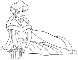 princess ariel coloring pages print archives princess