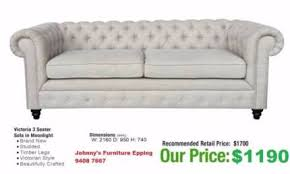 Grey Fabric Chesterfield Sofa by Chesterfield Sofa Gumtree Australia Free Local Classifieds