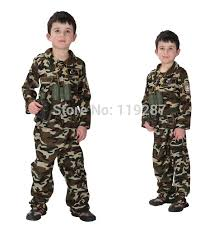 Halloween Military Costumes Aliexpress Buy Shanghai Story Children Stage Army Costumes