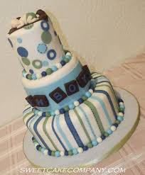 baby boy baby shower cake blue green white brown cakecentral com