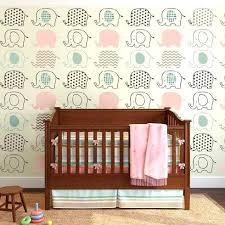 elephant nursery wallpaper u2013 cafeterasbaratas