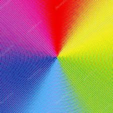 Color Spectrum Halftone Color Spectrum U2014 Stock Photo Vlue 4639920