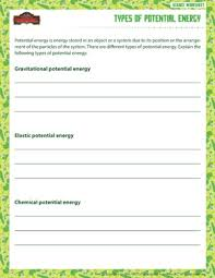 types of potential energy u2013 free and printable sixth grade science