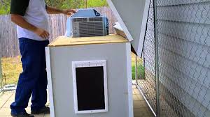 Are Igloo Dog Houses Warm Air Conditioned Dog House Youtube