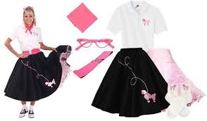 50s Halloween Costumes Poodle Skirts Poodle Skirt 50 U0027s Costume Halloween Costumes