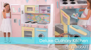 children u0027s deluxe culinary play kitchen toy review youtube