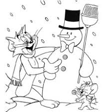 10 free printable tom jerry coloring pages