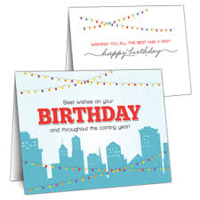 business birthday cards business birthday cards for clients and employees