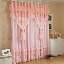 Ruffled Curtains Pink Ruffled Curtains For Bedroom Fresh Bedrooms Decor Ideas