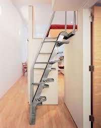 interior minimalist home interior stair design using stainless
