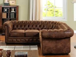 canapé microfibre vieilli fauteuil imitation cuir vieilli finest canape d angle