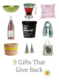 5 weeks of gift giving gifts that give back u2022 craftwhack