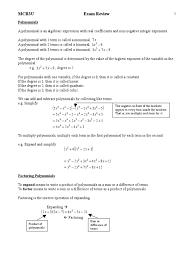 Dividing Polynomials Worksheet Grade 11 Functions Exam Review Trigonometric Functions Sine