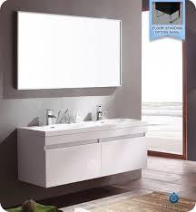 White Modern Bathroom Vanities The Right Bathroom Utilities For Your Renovated Modern Bathroom