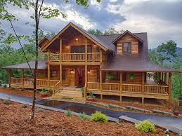 log homes with wrap around porches log home with beautiful wrap around porch and upstairs porch my