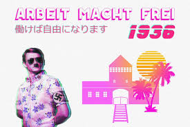 halloween vaporwave background trumpwave and fashwave are the latest examples of the far right