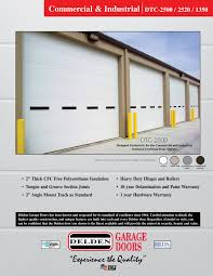 Overhead Door Company Springfield Mo Renner Supply Company Offers 10 Years Delamination And Paint