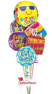 get balloons delivered get well balloon bouquets delivery by balloonplanet