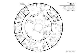 floor plan dl t04 monolithic dome institute