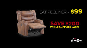 black friday recliner home zone black friday youtube