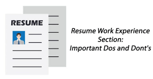 Dos And Donts Of Resume The Most Effective Method To Write Job Descriptions For Your Resume